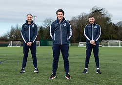 Bristol Rovers Announce New Manager Joey Barton, assistant manager Clint Hill and first team manager Andy Mangan - Mandatory by-line: Ryan Hiscott/JMP - 22/02/2021 - FOOTBALL - Gloucestershire FA - Bristol, England - Bristol Rovers Announce New Manager Joey Barton