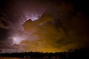Sao Joaquim de Bicas_MG, Brasil...Tempestade com raios na cidade de Sao Joaquim de Bicas...The rain with lightning in Sao Joaquim de Bicas town...Foto: LEO DRUMOND / NITRO