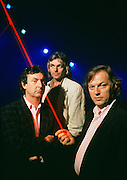 The Rock Group Pink Floyd during the Momentary Lapse of Reason Tour, their first tour without Roger Waters.