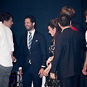 NLD/Scheveningen/20180630 - Koning bij Award Diner Volvo Ocean Race, Prins Carl Philip van Zweden