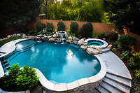 Pool in Auburn, CA., Aug. 8, 2018
