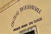 the winery chateau trottevieille saint emilion bordeaux france