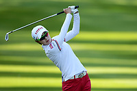 Hyo Joo Kim (Kor) competes and wins during the final round of LPGA Evian Championship 2014, day 7, at Evian Resort Golf Club, in Evian-Les-Bains, France, on September 14, 2014. Photo Philippe Millereau / KMSP / DPPI