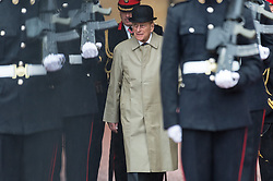 August 2, 2017 - London, London, UK - The Duke of Edinburgh attends The Captain General's Parade to mark the finale of the 1664 Global Challenge at Buckingham Palace. It is the Duke's final own programme of individual public engagements. (Credit Image: © Ray Tang via ZUMA Wire)