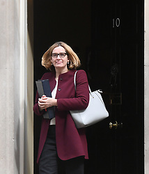 File photo dated 24/04/18 of Home Secretary Amber Rudd, who is to be recalled to give evidence to the Commons Home Affairs Committee after admitting she should have known about targets for removing illegal immigrants.