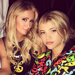 """Paris Hilton releases a photo on Instagram with the following caption: """"Happy Birthday @SofiaRichie! \ud83c\udf89\ud83c\udf82\ud83c\udf89 So proud of the woman you have become! \ud83d\udc51 Lighting the world up with your beauty, fun personality \u0026 good vibes!\ud83d\udd25 Keep #Killingit sis! \ud83d\udca5Love you! \u2764"""". Photo Credit: Instagram *** No USA Distribution *** For Editorial Use Only *** Not to be Published in Books or Photo Books ***  Please note: Fees charged by the agency are for the agency's services only, and do not, nor are they intended to, convey to the user any ownership of Copyright or License in the material. The agency does not claim any ownership including but not limited to Copyright or License in the attached material. By publishing this material you expressly agree to indemnify and to hold the agency and its directors, shareholders and employees harmless from any loss, claims, damages, demands, expenses (including legal fees), or any causes of action or allegation against the agency arising out of or connected in any way with publication of the material."""