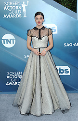 Francesca Reale at the 26th Annual Screen Actors Guild Awards held at the Shrine Auditorium in Los Angeles, USA on January 19, 2020.