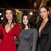 NLD/Amsterdam/20171012 - Televizier-Ring Gala 2017, Erik de Vogel met partner Caroline de Bruijn en .......
