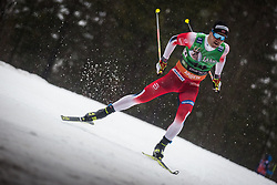 Sindre Bjoernestad Skar (NOR) during the Ladies sprint free race at FIS Cross Country World Cup Planica 2019, on December 21, 2019 at Planica, Slovenia. Photo By Peter Podobnik / Sportida