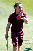 Atletico de Madrid's physical trainer Oscar Ezequiel El Profe Ortega during training session. April 11,2017.(ALTERPHOTOS/Acero)