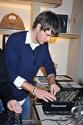 ISAAC FERRY at a party hosted by TOD's to celebrate the launch of the J.P.Loafer collection, held at the TOD's Boutique, 2-5 Old Bond Street, London on 31st March 2009.