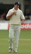 2004 1st NPower Test  - England v New Zealand. <br /> 21/05/2004<br /> <br /> Andrew Strauss<br />  <br /> <br />     [Credit Peter Spurrier Intersport Images}