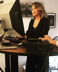 """Chrissy Teigen releases a photo on Instagram with the following caption: """"Today I went to visit my WME/IMG family. Honestly it was incredible to be able to see and talk to everyone that makes EVERYTHING happen for me. IMG believed in me from the start and never ever wanted to change a thing about me. I don\u2019t know if they\u2019ll ever know how much that meant to me. Nothing I do would have happened without them and they work infinitely harder than I do. They also work and make calls from treadmill desks which is absolutely fucking absurd. I love you guys."""". Photo Credit: Instagram *** No USA Distribution *** For Editorial Use Only *** Not to be Published in Books or Photo Books ***  Please note: Fees charged by the agency are for the agency's services only, and do not, nor are they intended to, convey to the user any ownership of Copyright or License in the material. The agency does not claim any ownership including but not limited to Copyright or License in the attached material. By publishing this material you expressly agree to indemnify and to hold the agency and its directors, shareholders and employees harmless from any loss, claims, damages, demands, expenses (including legal fees), or any causes of action or allegation against the agency arising out of or connected in any way with publication of the material."""
