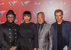 will.i.am, Jennifer Hudson, Tom Jones, Gavin Rossdale at<br /> The Voice UK, red carpet, Manchester<br /> <br /> (c) John Baguley | Edinburgh Elite media