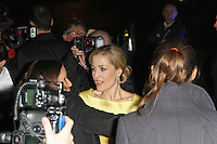 LONDON - FEBRUARY 13: Gillian Anderson attends the public relations disaster that was the outside arrivals at the ELLE Style Awards at the Savoy Hotel, London, UK on February 13, 2012. (Photo by Richard Goldschmidt)