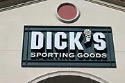 Dick's Sporting Goods store sign is seen, Monday, Oct. 12, 2020, in El Segundo, Calif.