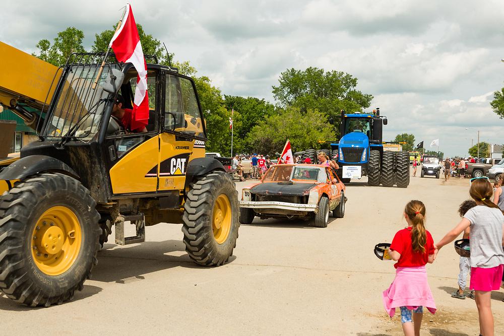 Canada Day Parade, Elbow, SK