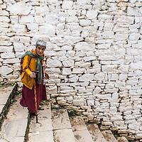 Woman, Paro, Bhutan