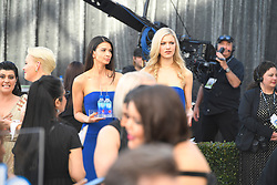 January 27, 2019 - Los Angeles, California, U.S - FIJI WOMEN during silver carpet arrivals for the 25th Annual Screen Actors Guild Awards, held at The Shrine Expo Hall. (Credit Image: © Kevin Sullivan via ZUMA Wire)