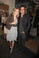 DANIEL PIRRIE and ANTONIA HEDLEY-DENT at the Natural Beauty Honours 2008 hosted by Neal's Yard Remedies, 124b King's Road, London SW3 on 4th September 2008.<br /> <br /> NON EXCLUSIVE - WORLD RIGHTS