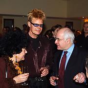 Harpengala 2003, Ad V`isser en vrouw in gesprek met Frits Spits