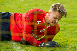 October 9, 2018 - LillestrØM, NORWAY - 181009 Goalkeeper Ørjan HÃ¥skjold Nyland of Norway during a training session on October 9, 2018 in Lillestrøm..Photo: Jon Olav Nesvold / BILDBYRÃ…N / kod JE / 160321 (Credit Image: © Jon Olav Nesvold/Bildbyran via ZUMA Press)