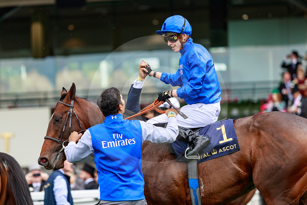 Blue Point (J. Doyle) wins The Diamond Jubilee Stakes Gr.1 at Royal Ascot, 22/06/2019, photo: Zuzanna Lupa