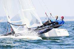 , Travemünde - Mövensteinregatta 07. - 09.08.2020, Formula 18 - GER 347 -  - Daniel PAYSEN - Nico HEINRICH - Yachtclub Scharbeutz_Ostsee e.V