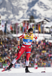 February 21, 2019 - Seefeld In Tirol, AUSTRIA - 190221 Tiril Udnes Weng of Norway competes in women's cross-country skiing sprint qualification during the FIS Nordic World Ski Championships on February 21, 2019 in Seefeld in Tirol..Photo: Joel Marklund / BILDBYRÃ…N / kod JM / 87879 (Credit Image: © Joel Marklund/Bildbyran via ZUMA Press)