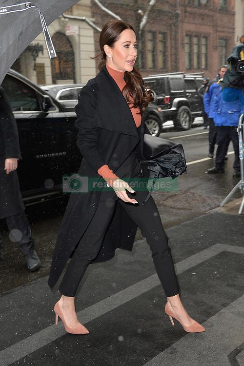 February 20, 2019 - New York, NY, USA - February 20, 2019 New York City..Jessica Mulroney arrives to Meghan Markle's baby shower on February 20, 2019 in New York City. (Credit Image: © Kristin Callahan/Ace Pictures via ZUMA Press)