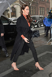 February 20, 2019 - New York, NY, USA - February 20, 2019 New York City..Jessica Mulroney arrives to Meghan Markle's baby shower on February 20, 2019 in New York City. (Credit Image: © Kristin Callahan/Ace Pictures via ZUMA Press)