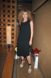 KELLY HOPPEN at a treasure hunt and dinner hosted by Fiat to celebrate the launch of the Fiat 500 C held at Zuma, Raphael Street, London on 29th June 2009.