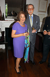 VALERIE KLEEMAN and ALAN WHICKER at a party to launch her atest collection held at Morton's, Berkeley Square, Lonon W1 on 11th September 2006.<br /><br />NON EXCLUSIVE - WORLD RIGHTS