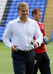 Swindon Town's manager Mark Cooper - Photo mandatory by-line: Joe Dent/JMP - Tel: Mobile: 07966 386802 03/08/2013 - SPORT - FOOTBALL -  London Road Stadium - Peterborough -  Peterborough United v Swindon Town - Sky Bet One