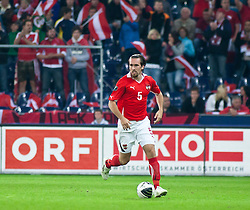 07.09.2010, Red Bull Arena, Salzburg, AUT, UEFA 2012 Qualifier, Austria vs Kazakhstan, im Bild Christian Fuchs (1. FSV Mainz 05, Austria, #5), EXPA Pictures © 2010, PhotoCredit: EXPA/ J. Feichter / SPORTIDA PHOTO AGENCY