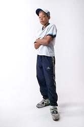 Portrait of a teenaged boy with attitude,
