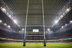 A general view of Principality Stadium<br /> <br /> Photographer Simon King/Replay Images<br /> <br /> Guinness PRO14 Round 21 - Dragons v Scarlets - Saturday 28th April 2018 - Principality Stadium - Cardiff<br /> <br /> World Copyright © Replay Images . All rights reserved. info@replayimages.co.uk - http://replayimages.co.uk