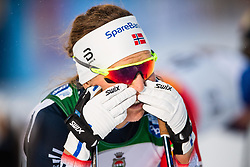 November 24, 2018 - Ruka, FINLAND - 181124 Tiril Udnes Weng of Norway looks dejected aftetr  competing in a women's sprint classic technique quarterfinal during the FIS Cross-Country World Cup premiere on November 24, 2018 in Ruka  (Credit Image: © Carl Sandin/Bildbyran via ZUMA Press)