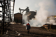 Blast furnace manager Kemal Alic.<br /> Arcelor Mittal. <br /> <br /> Matt Lutton / Boreal Collective for the Financial Times.