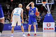 DESCRIZIONE : Eurocup 2014/15 Last 32 Gruppo H Dinamo Banco di Sardegna Sassari - Buducnost VOLI Podgorica<br /> GIOCATORE : Nikola Ivanovic<br /> CATEGORIA : Palleggio Schema Mani<br /> SQUADRA : Buducnost VOLI Podgorica<br /> EVENTO : Eurocup 2014/2015<br /> GARA : Dinamo Banco di Sardegna Sassari - Buducnost VOLI Podgorica<br /> DATA : 28/01/2015<br /> SPORT : Pallacanestro <br /> AUTORE : Agenzia Ciamillo-Castoria / Luigi Canu<br /> Galleria : Eurocup 2014/2015<br /> Fotonotizia : Eurocup 2014/15 Last 32 Gruppo H Dinamo Banco di Sardegna Sassari - Buducnost VOLI Podgorica<br /> Predefinita :