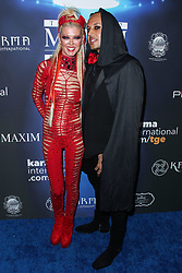 2017 MAXIM Halloween Party held at Los Angeles Center Studios on October 21, 2017 in Los Angeles, California. 21 Oct 2017 Pictured: Tara Reid, Ted Dhanik. Photo credit: IPA/MEGA TheMegaAgency.com +1 888 505 6342