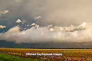 63891-02404 Clouds after storm over field, Marion Co. IL