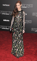 December 10, 2016 - Los Angeles, CA, United States of America - Lydia Hearst arriving at the Star Wars ''Rogue One'' World Premiere at the Pantages Theater on December 10 2016 in Hollywood, CA  (Credit Image: © Famous/Ace Pictures via ZUMA Press)