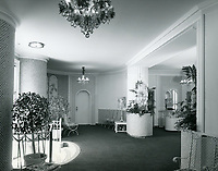 1959 Interior of the Max Factor Salon on Highland Ave.