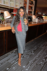 SINITTA at a party to celebrate the 21st anniversary of The Roar Group hosted by Jonathan Shalit held at Avenue, 9 St.James's Street, London on 21st September 2015.
