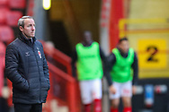 Charlton Athletic manager Lee Bowyer during the The FA Cup 2nd round match between Charlton Athletic and Doncaster Rovers at The Valley, London, England on 1 December 2018. Photo by Toyin Oshodi