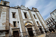 S. Antão Church in Evora, the capital city of Alentejo province in Portugal.
