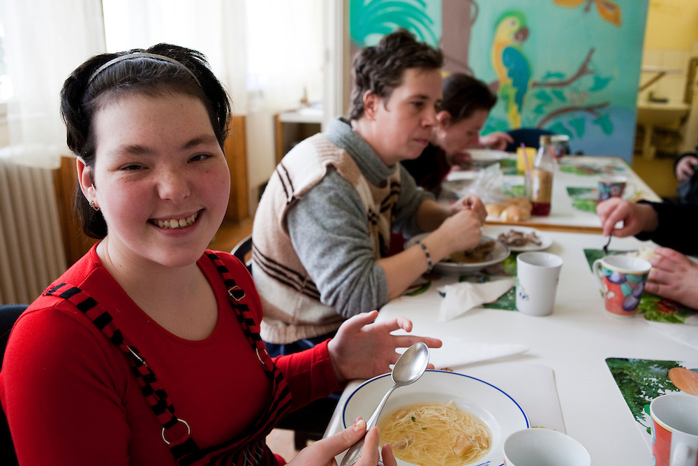 The institute provides among others practical facilities lunches; a moment where everybody get together.