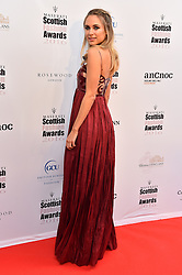 Kimberley Garner attending the Scottish Fashion Awards, at the Rosewood Hotel in London. Picture date: Friday October 21, 2016. Photo credit should read: Matt Crossick/ EMPICS Entertainment.