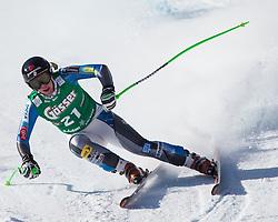 12.01.2013, Karl Schranz Abfahrt, St. Anton, AUT, FIS Weltcup Ski Alpin, Abfahrt, Damen im Bild Stacey Cook (USA) // Stacey Cook of the USA in action during ladies Downhill of the FIS Ski Alpine World Cup at the Karl Schranz course, St. Anton, Austria on 2013/01/12. EXPA Pictures © 2013, PhotoCredit: EXPA/ Johann Groder